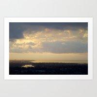 Sunrise Over South Long Beach Art Print