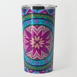 Meditation Mandala Travel Mug