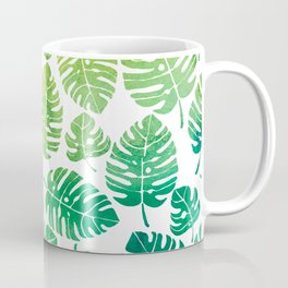 Palm Leaves Pattern Coffee Mug