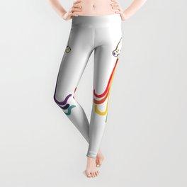 Rainbow Jellyfish Leggings