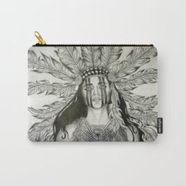 Indian War chief  Carry-All Pouch
