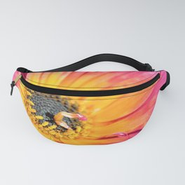 Beautiful Pink Imperfection Flower  by Reay of Light Photography Fanny Pack