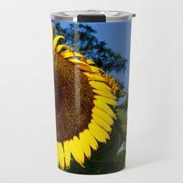 Sunflower and Windmill Travel Mug