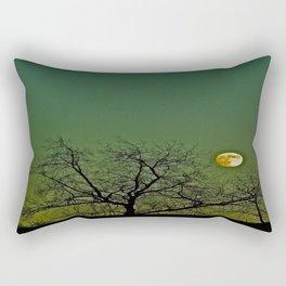 Tangled Tree Moon Rectangular Pillow