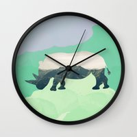 soul Wall Clocks featuring Soul by 83 Oranges™