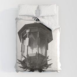 Vibrant city . Art object coupon , interiordecor . antique 3 Comforters