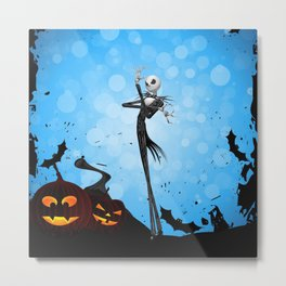 Jack Skellington- nightmare Metal Print