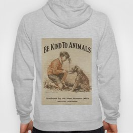 Be Kind To Animals 3 Hoody