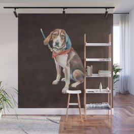 American English Coonhound Wall Mural