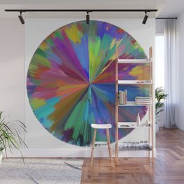 color wheel 01 Wall Mural