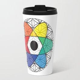 Flower of Science Travel Mug