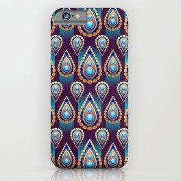 Turkish Blue iPhone Case