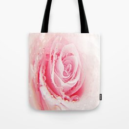 Rose and Tears Tote Bag