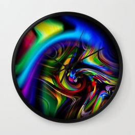 Abstract Perfection 19 Wall Clock