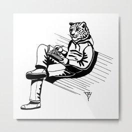 AniMusic (IRBIS) Metal Print