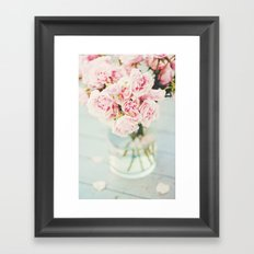 One A Rainy Sunday In May Framed Art Print