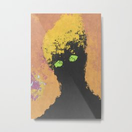 Portrait from Beyond Metal Print