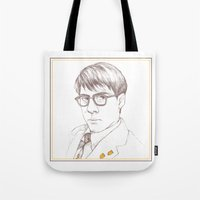 rushmore Tote Bags featuring Rushmore by Michelle Eatough