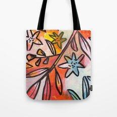 Painted Jungle 2 Tote Bag