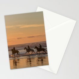 Sunset Horse Ride Stationery Cards