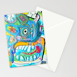 Jenkins (Contemporary Art New Style Painting) Stationery Cards