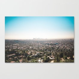 View of the Angels Canvas Print
