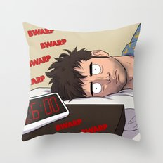 Morning - Doctor Who Throw Pillow