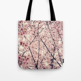 Blizzard of Blossoms Tote Bag