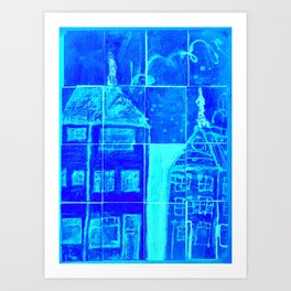 Up On A Roof:# 18 from children will play.  Art Print