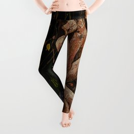 quieten pavor nocturnus remix Leggings