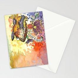Heart & Soul Stationery Cards