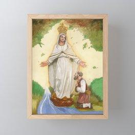 Mater Misericordiae Framed Mini Art Print