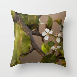 First Days of Spring Throw Pillow