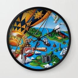 The Balloon Adventure Wall Clock