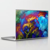 phoenix Laptop & iPad Skins featuring Phoenix by George Michael Art