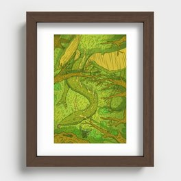 Forest Guardian  Recessed Framed Print