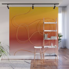 African Flavours gradient Wall Mural