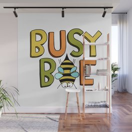 Busy Bee Wall Mural