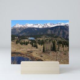 Molas Pass Impression At Million Dollar Highway Mini Art Print