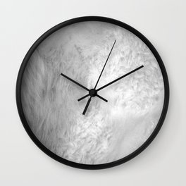 You Too Can Wear Fur! Wall Clock