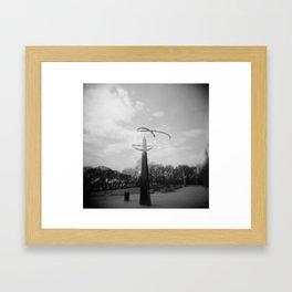 Align Framed Art Print