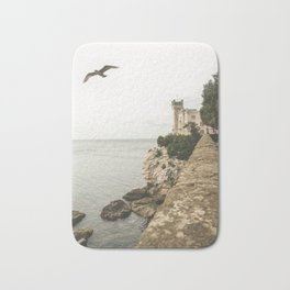 Flying on the castle Bath Mat