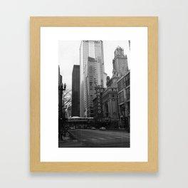 Chicago, IL Framed Art Print