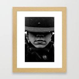 Adolescence of War Framed Art Print