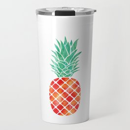 Three Pineapples Travel Mug