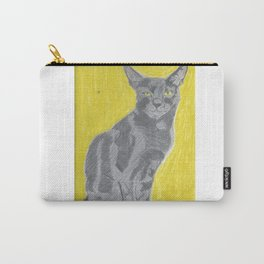 Yellow Catarine Carry-All Pouch