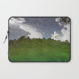 The Sky swims in the lake Laptop Sleeve