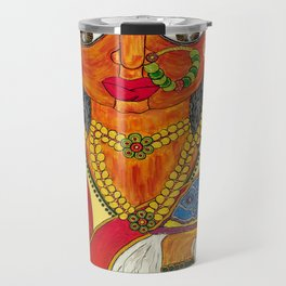 East Indian Bengali Bride Travel Mug