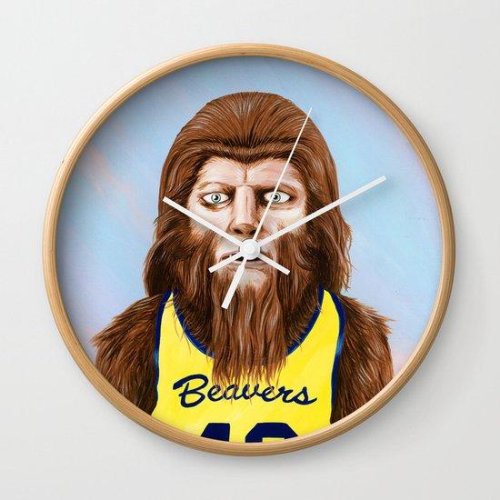 Teenwolf Wall Clock