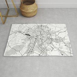Dijon Map Gray Rug